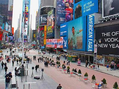 Times Square Redesign - Namziyal