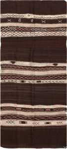 Vintage Flat Woven Moroccan Kilim Rug 45376 Nazmiyal