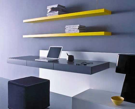 Wall Mounted Modern Office Nazmiyal
