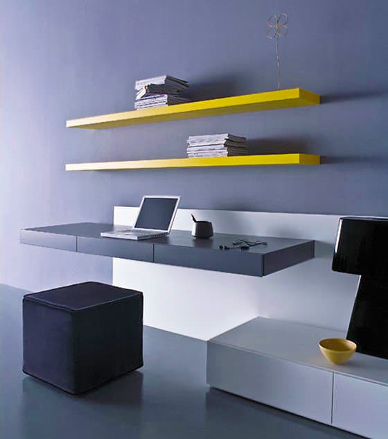 Wall Mounted Modern Office Nazmiyal