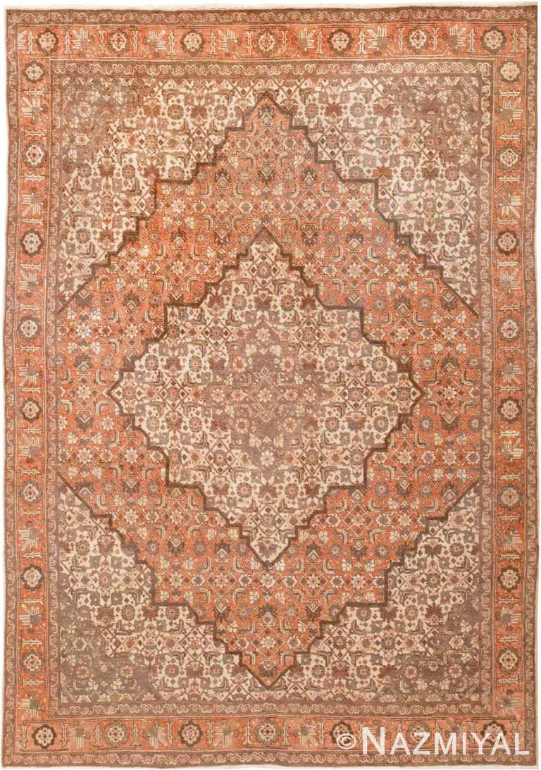 Antique Persian Room Size Tabriz Rug #45268 by Nazmiyal Antique Rugs