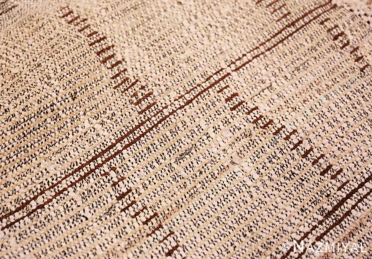 Back detail Small Vintage Moroccan rug 45418 by Nazmiyal