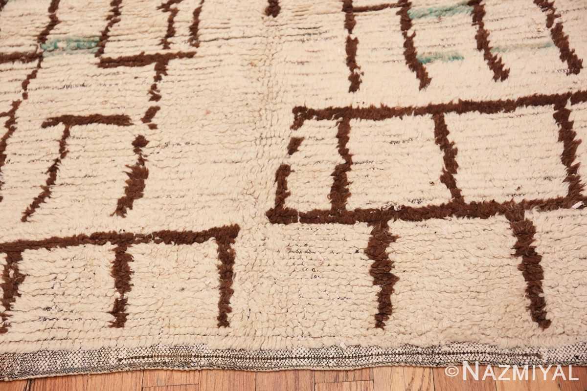 Border Small Vintage Moroccan rug 45418 by Nazmiyal