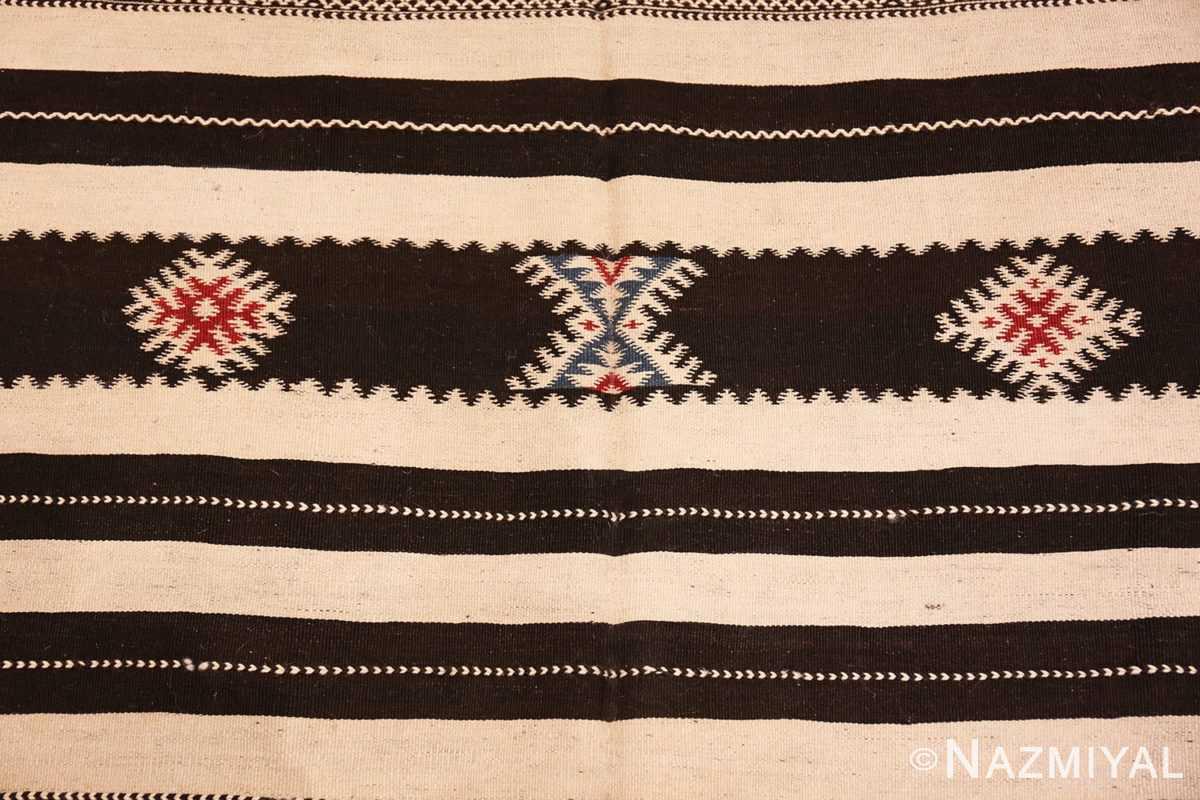 Close-up Vintage Moroccan Kilim 45379 Nazmiyal