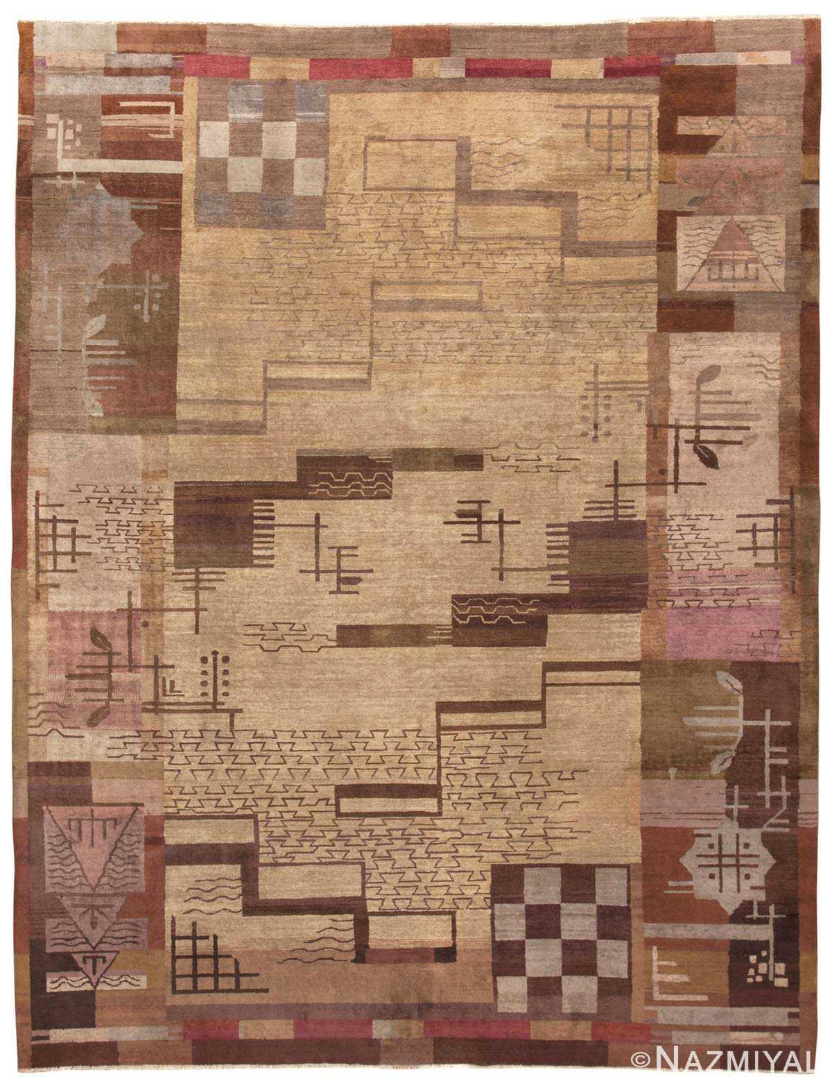 Art Deco Indian Carpet 45234