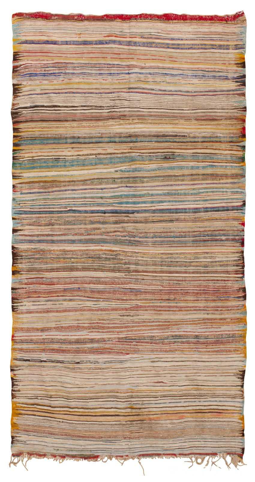Vintage Moroccan Carpet 45450 Detail/Large View