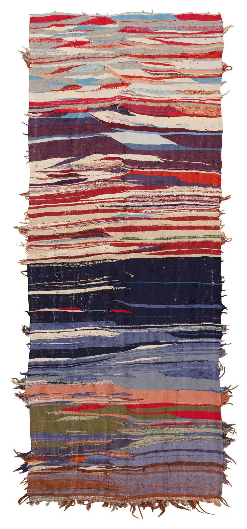 Vintage Moroccan Carpet 45451 Detail/Large View