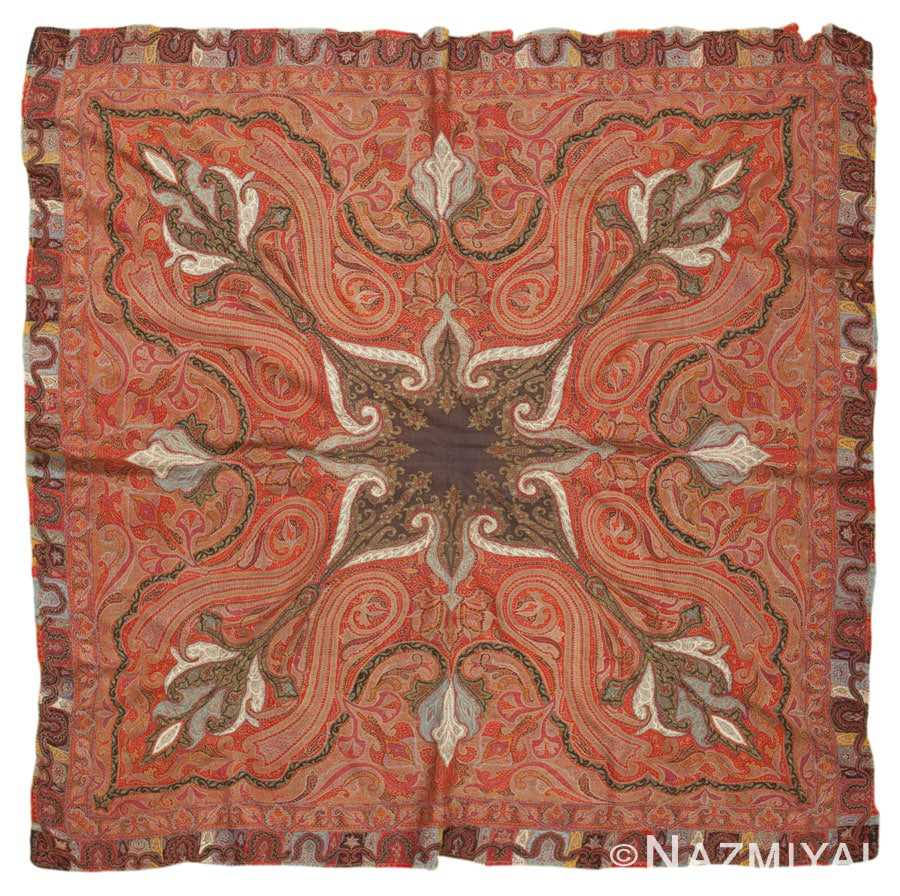 Antique Persian Shawl 45458 Detail/Large View