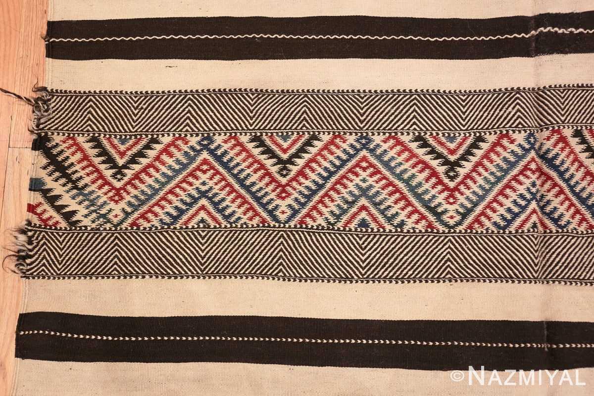 Detail Vintage Moroccan Kilim 45379 Nazmiyal