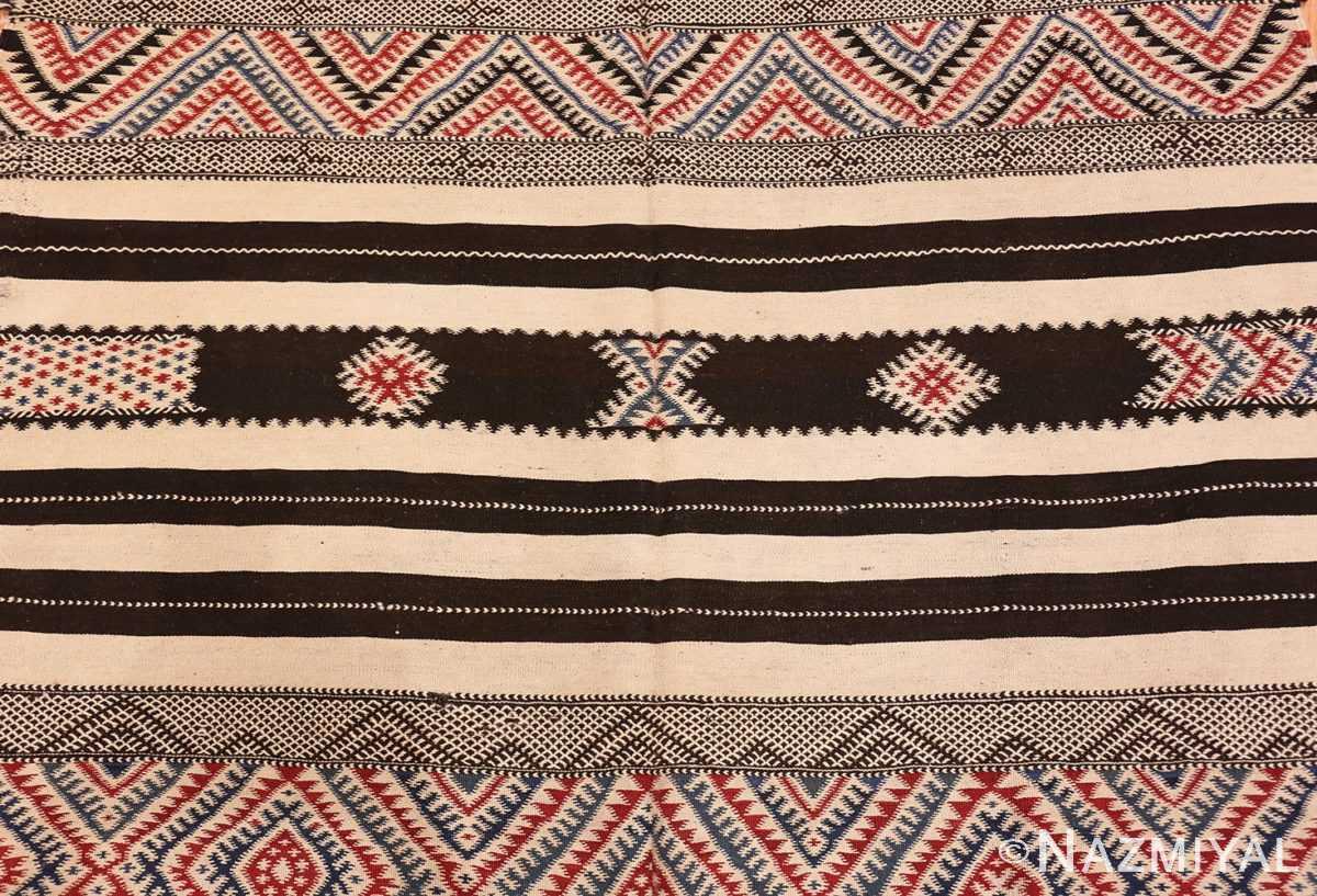 Field Vintage Moroccan Kilim 45379 Nazmiyal