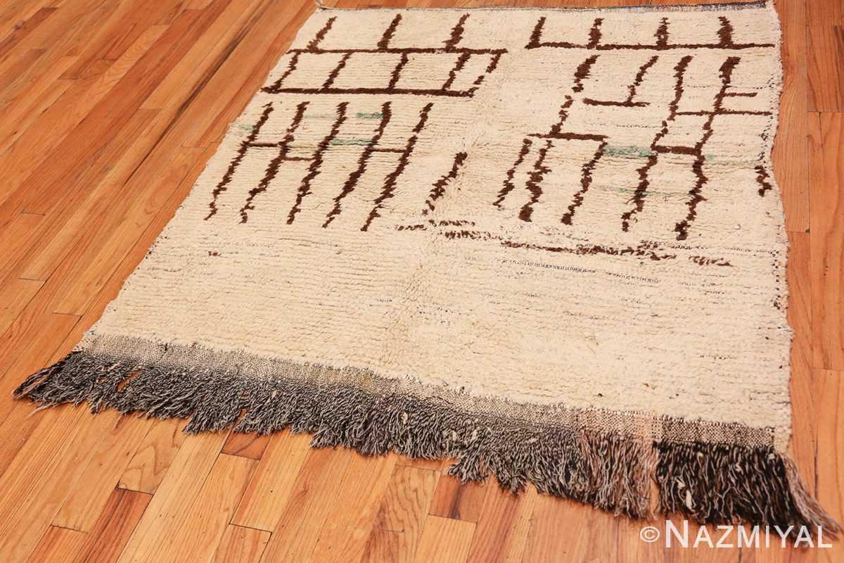 Full Small Vintage Moroccan rug 45418 by Nazmiyal