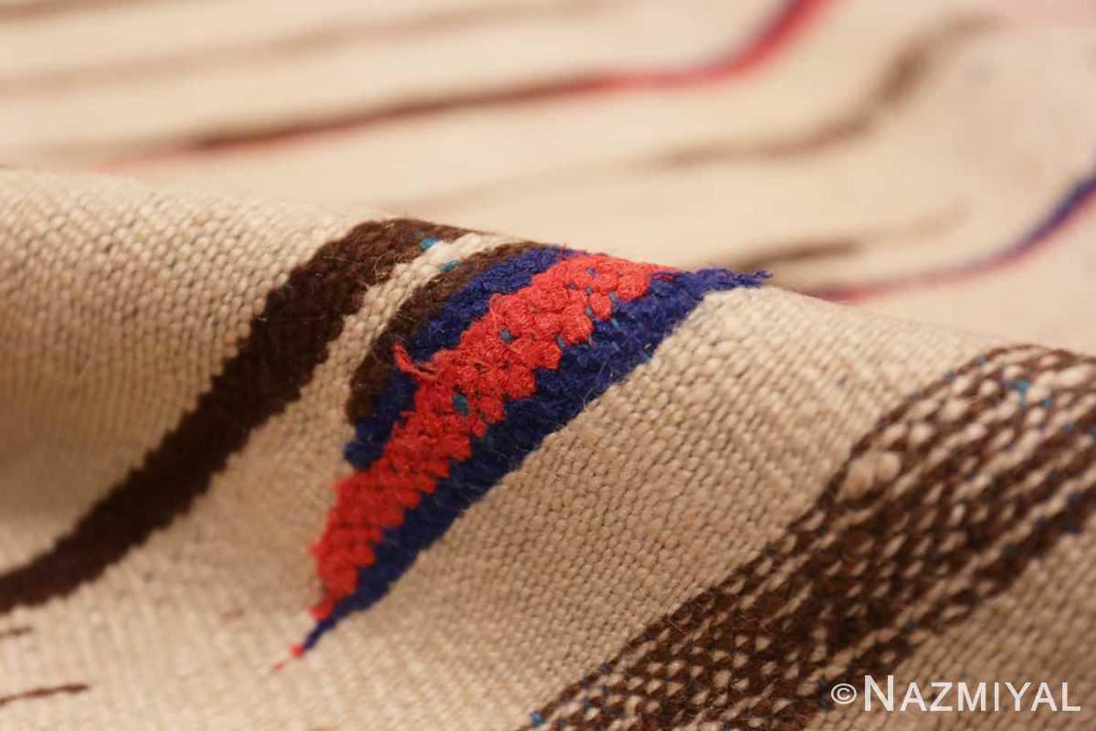 Pile Flat woven Vintage Moroccan Kilim rug 45377 by Nazmiyal
