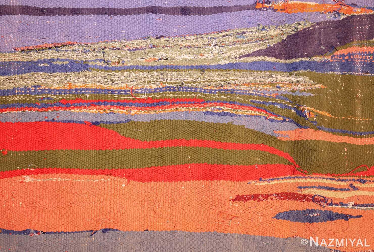 vintage moroccan rug 45451 detailed Nazmiyal