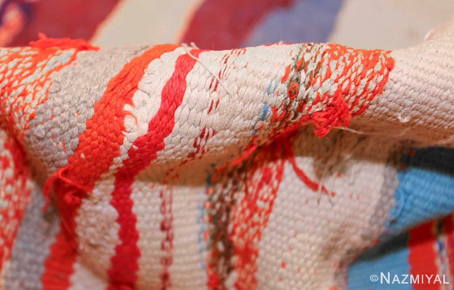 vintage moroccan rug 45451 pile Nazmiyal