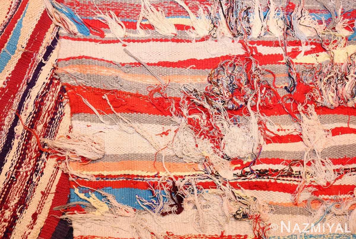vintage moroccan rug 45451 weave Nazmiyal