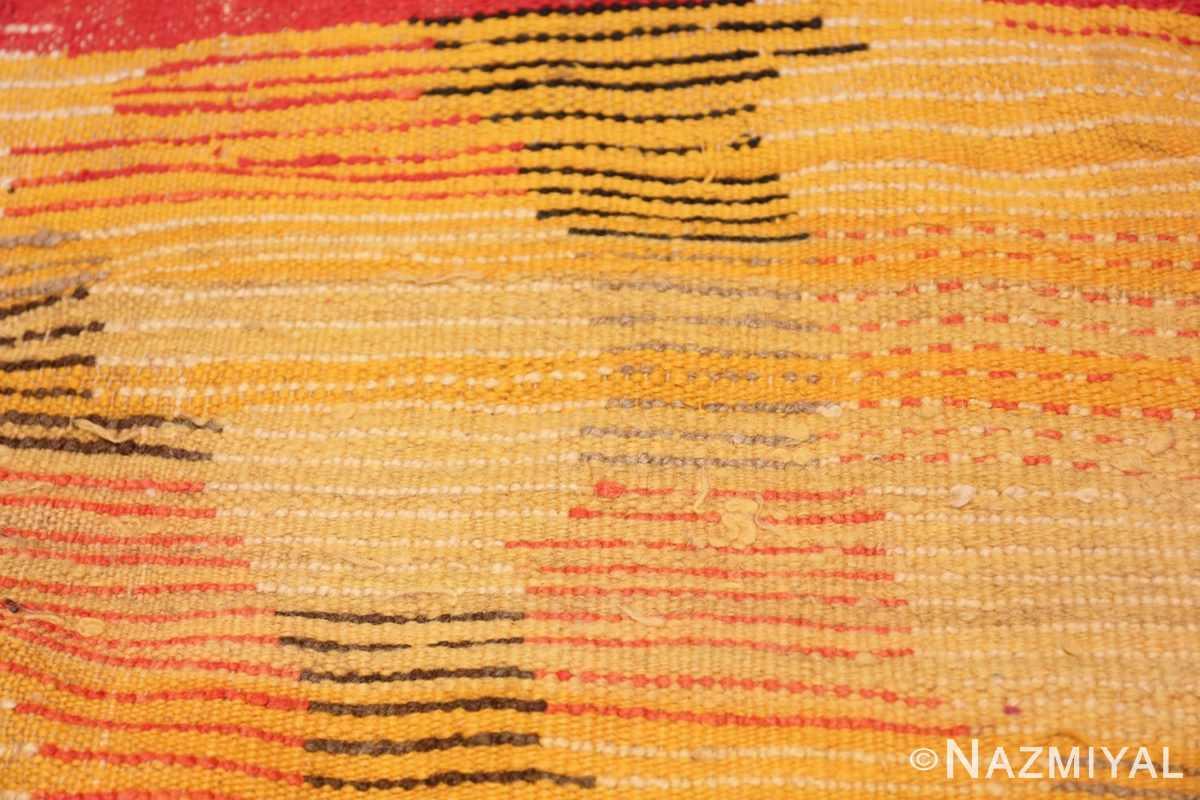 Weave Vintage mid century Morocan rug 45350 by Nazmiyal