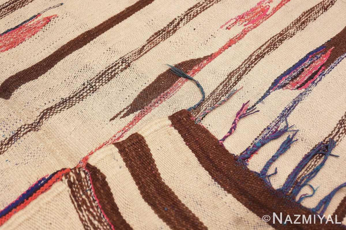 Weave Flat woven Vintage Moroccan Kilim rug 45377 by Nazmiyal