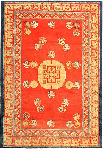 Antique Chinese Rug 43024