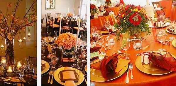 Beautiful Fall Table Setting - Nazmiyal