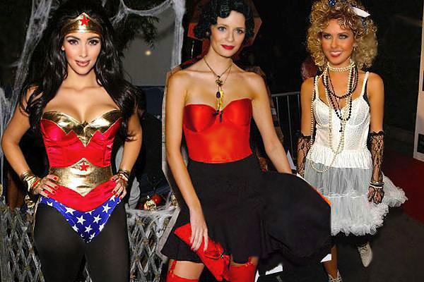 Celebrity Halloween Costumes by nazmiyal