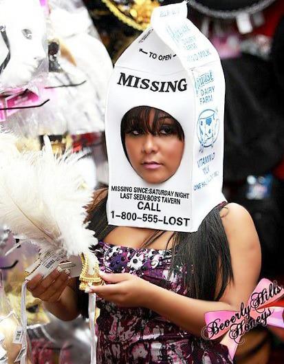 Celebrity Snooki In A Halloween Costume Nazmiyal