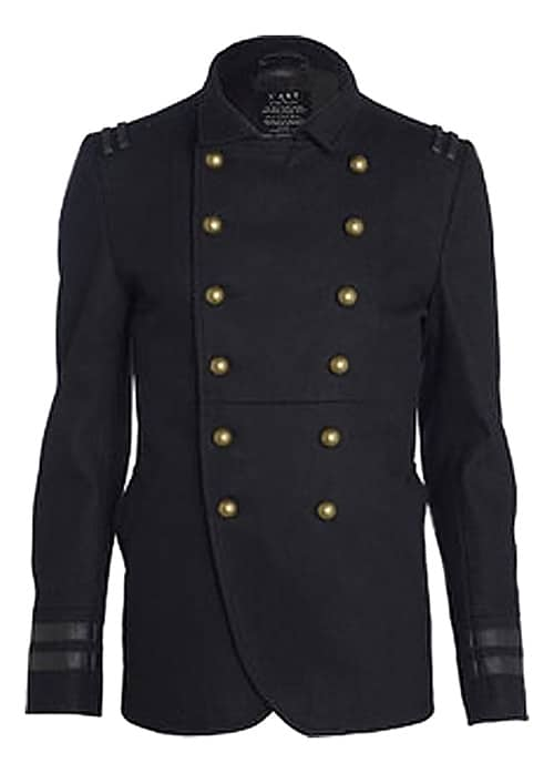 Winter Fashion Tips, Men's Military Coat - Nazmiyal