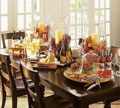 Traditional Fall Table Setting - Nazmiyal