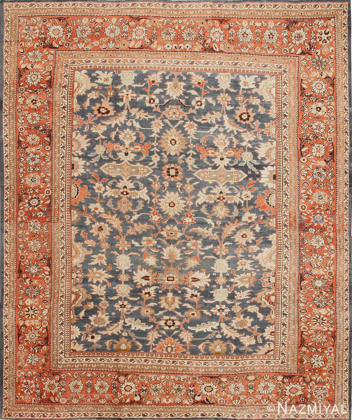 antique sultanabad persian rugs 43334 straight Nazmiyal