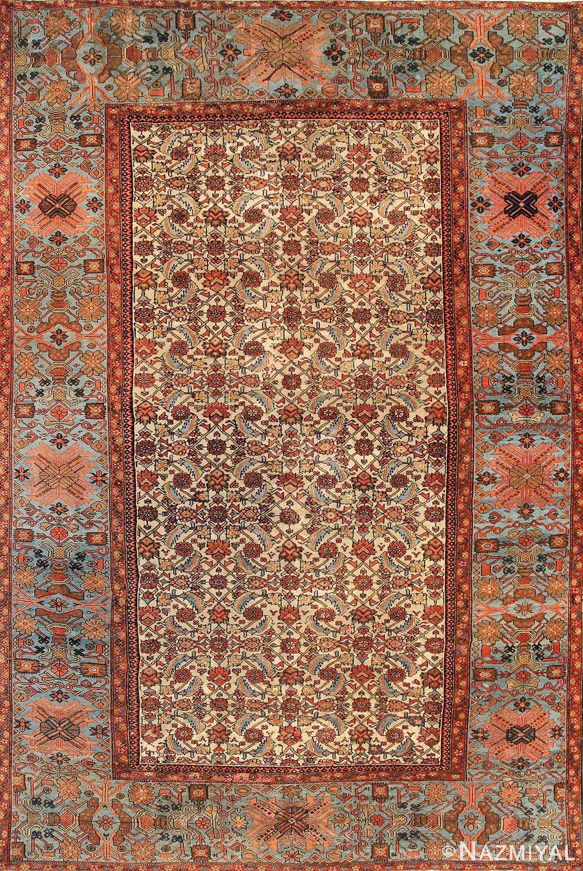 antique sultanabad carpet 44146 Nazmiyal