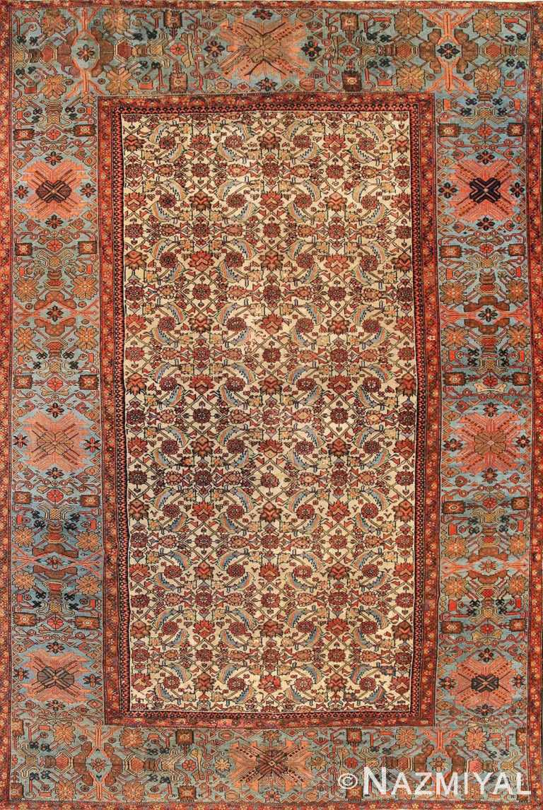 antique sultanabad carpet 44146 Nazmiyal