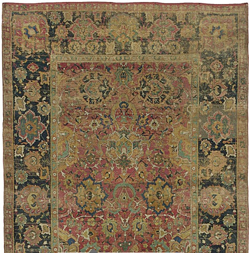 17th century Persian Isfahan carpet