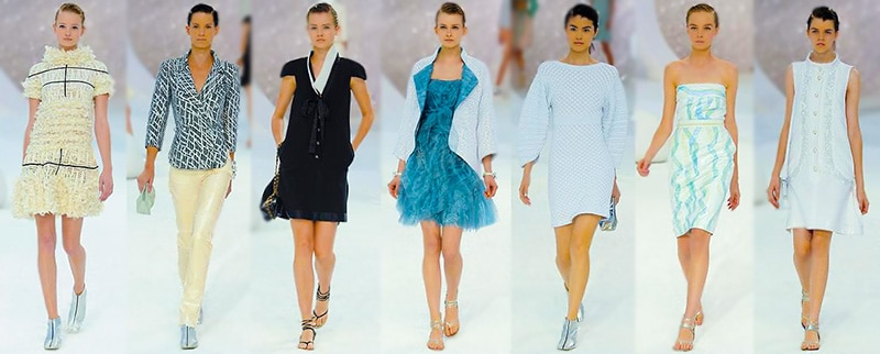 Chanel Women's Fashion Collection 2012 by Nazmiyal