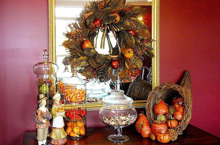 Thanksgiving Holiday Decor - Nazmiyal