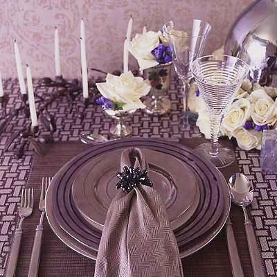 Hanukkah Holiday Table Setting Nazmiyal