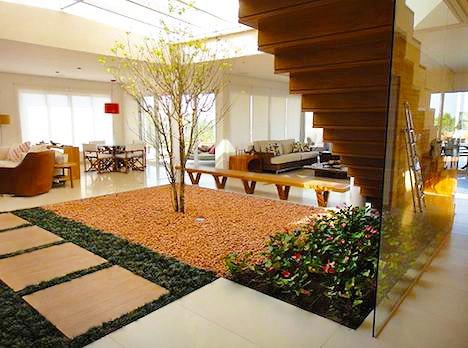 Interior Design With Indoor Garden Spaces by nazmiyal