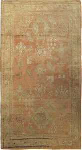 Antique Oushak  Turkish Rug 42085 Main Image