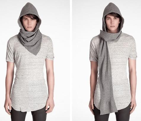 Men's Winter Scarf / Hat Fashion Trends - Nazmiyal