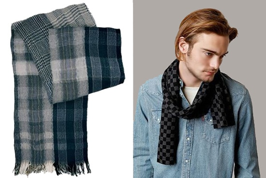 Men's Winter Fashion Trends - Winter Scarves - Namizyal