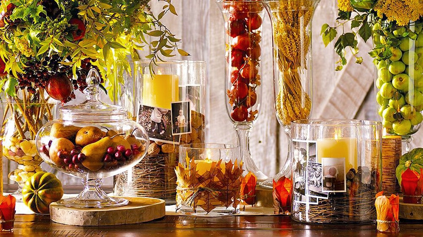 Thanksgiving Decor - Nazmiyal
