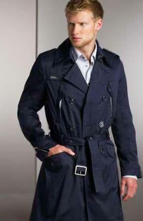 Trench Coats Mens fashion - Nazmiyal