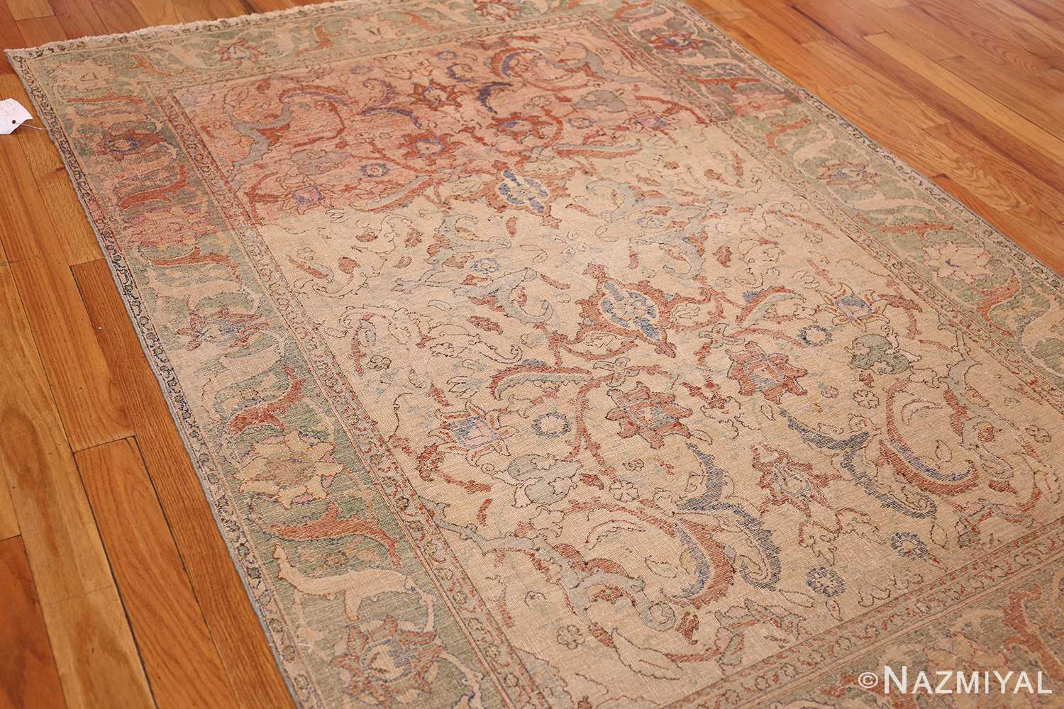 antique 17th century silk persian polonaise rug 40787 whole Nazmiyal