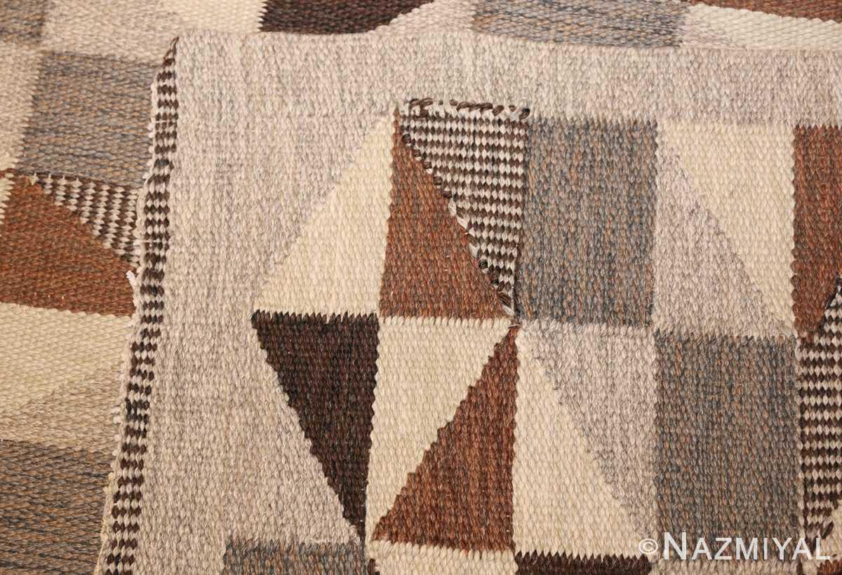 brita grahn vintage swedish rug 45522 knots Nazmiyal