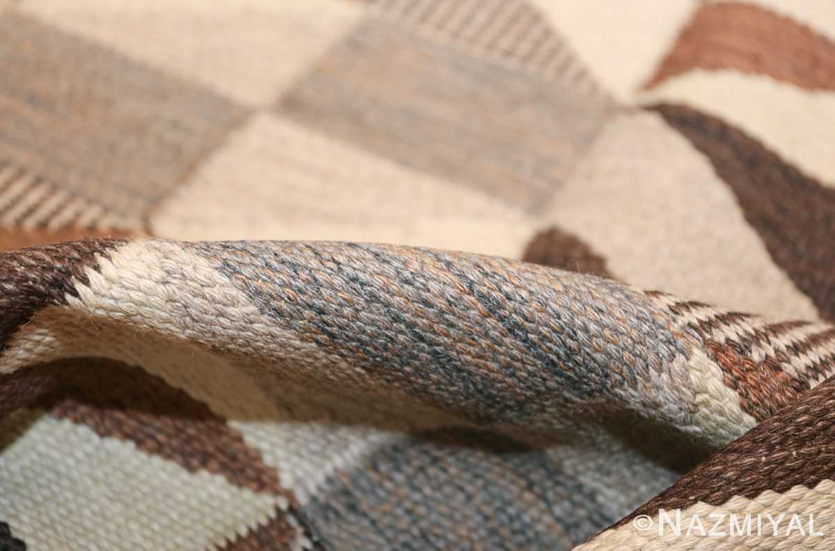 brita grahn vintage swedish rug 45522 pile Nazmiyal