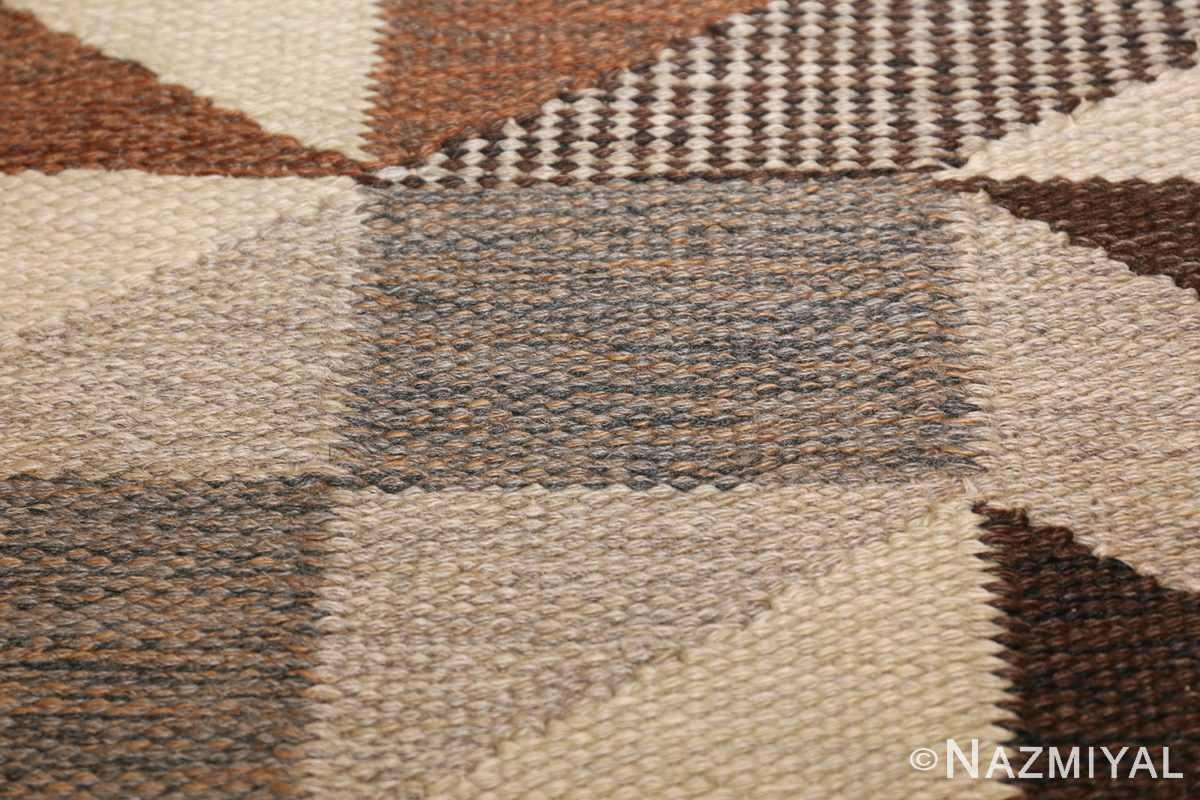 brita grahn vintage swedish rug 45522 texture Nazmiyal