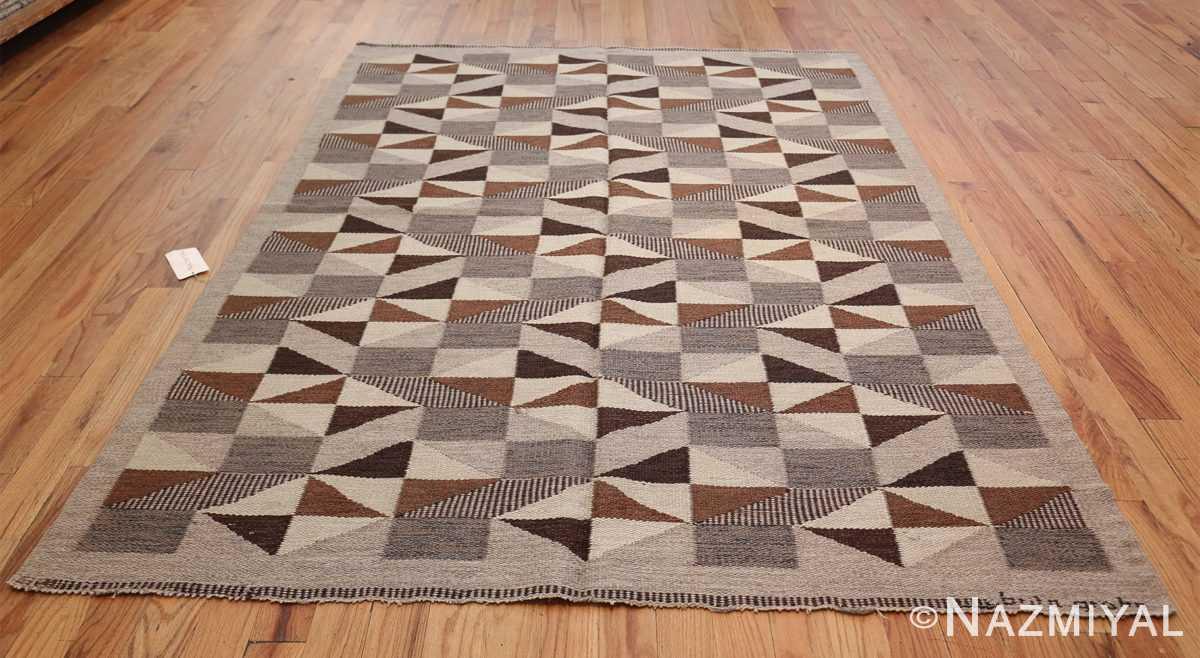 brita grahn vintage swedish rug 45522 whole Nazmiyal
