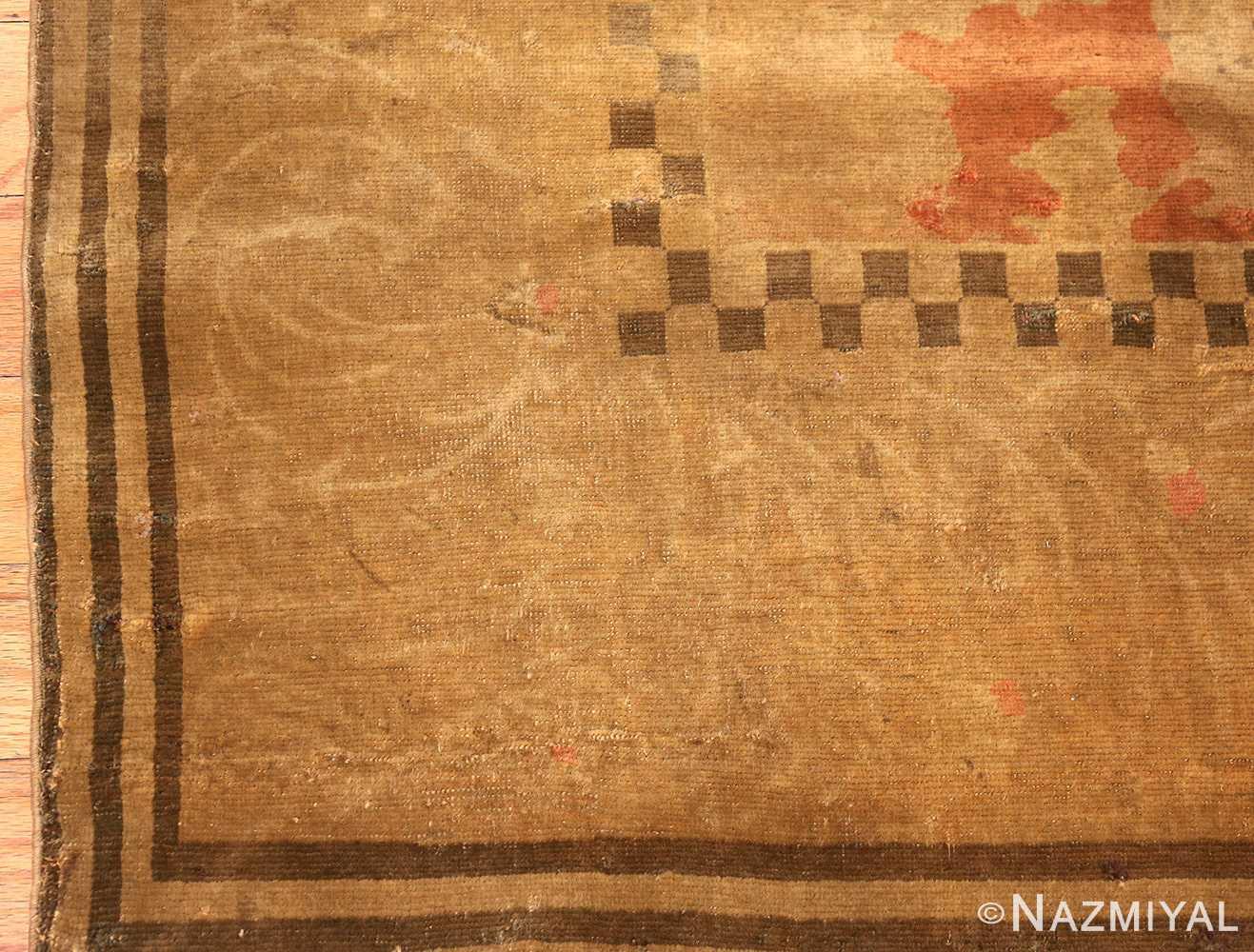 fine turkish antique rug 2744 corner Nazmiyal