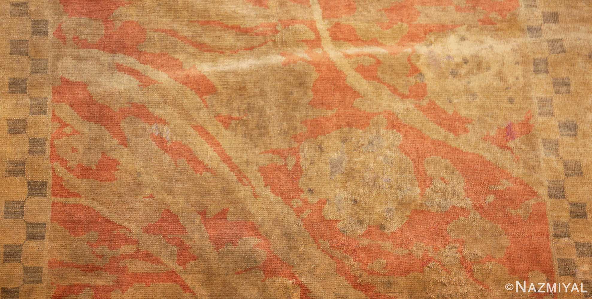 fine turkish antique rug 2744 field Nazmiyal