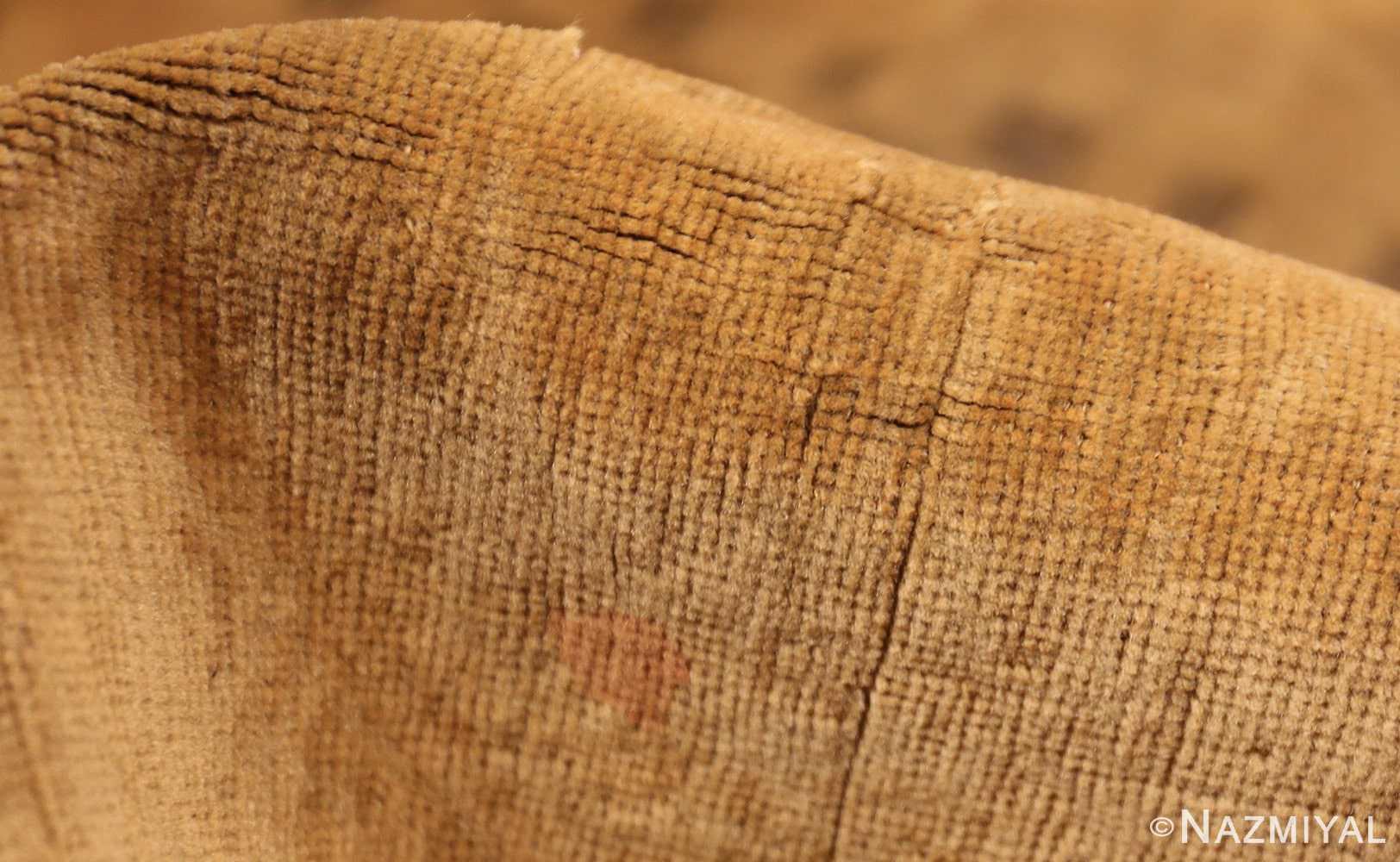 fine turkish antique rug 2744 pile Nazmiyal
