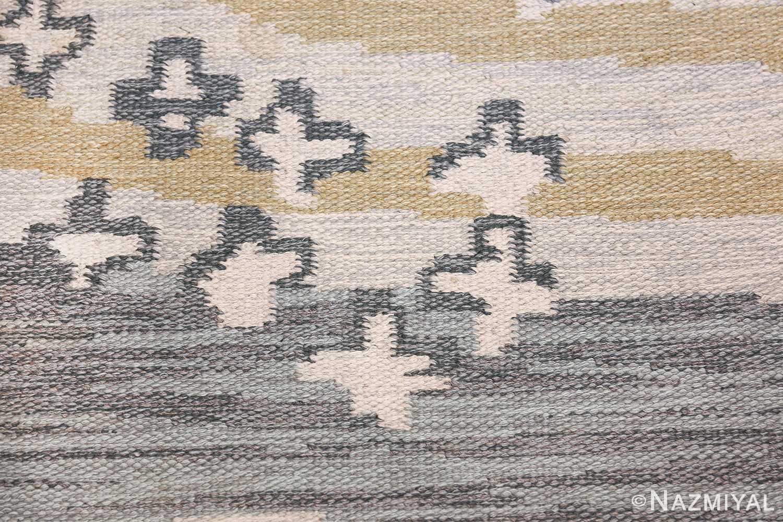 Vintage Swedish Rug by Britta Randahl Ljusterdal 45517 Falling Stars Nazmiyal