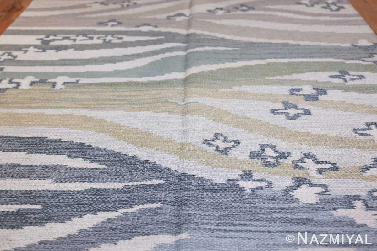 Vintage Swedish Rug by Britta Randahl Ljusterdal 45517 Field Design Nazmiyal